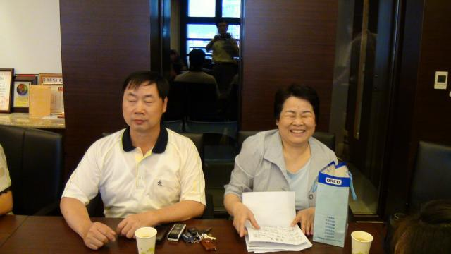 朱金玉常務理事賢伉儷開心的參與本次的課程,希望能增進歌唱的實力
