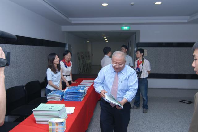 中華民國藥師公會全國聯合會李穎華常務理事蒞臨會場