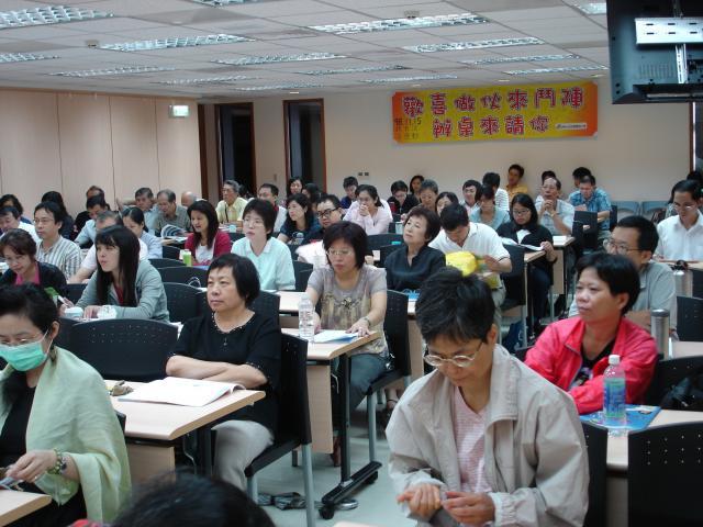 本次課程座無虛席,雖然是週末假日學員們還是肯花時間精進自身專業學識