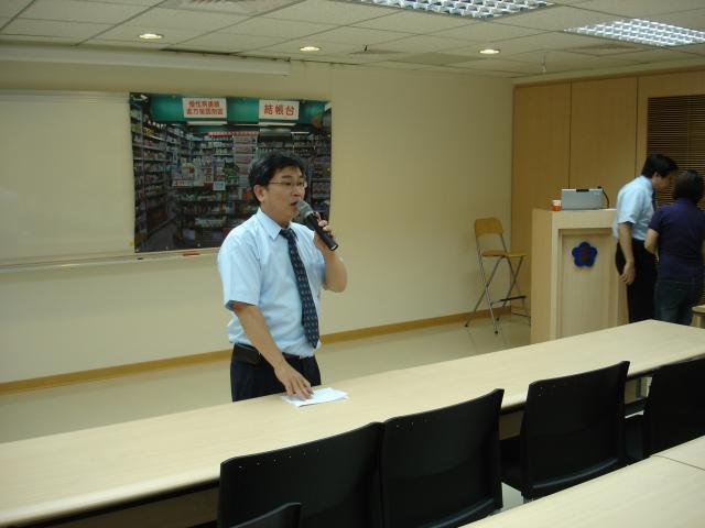 黃雋恩常務理事感謝學員們認真的參與本次的課程,希望大家若是對課程內容有問題踴躍的提問