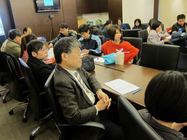 古博仁理事長也出席本次的課程