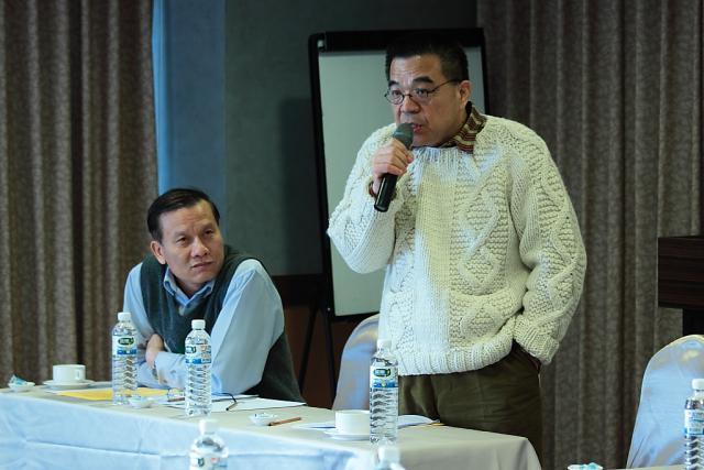 台灣醫療品質促進聯盟連瑞猛理事長出席本次理、監事會議並於會議上致詞
