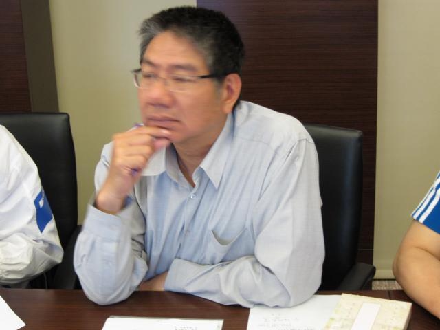 陳坤波理事出席本次理、監事會議