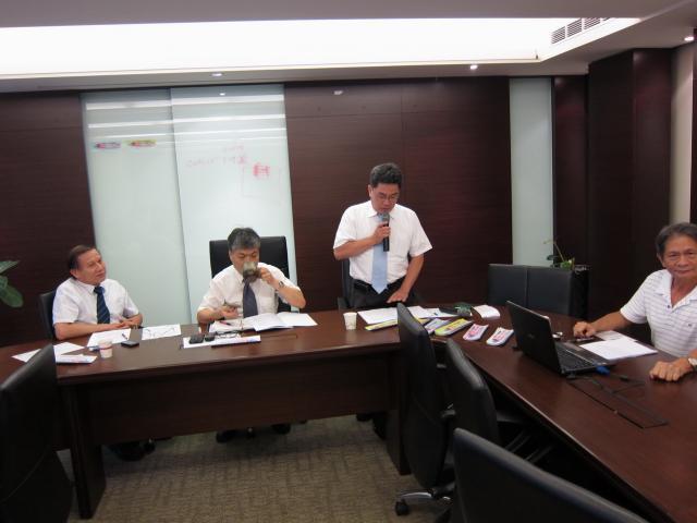 黃雋恩常務理事針對自強活動地點及相關流程提出建議