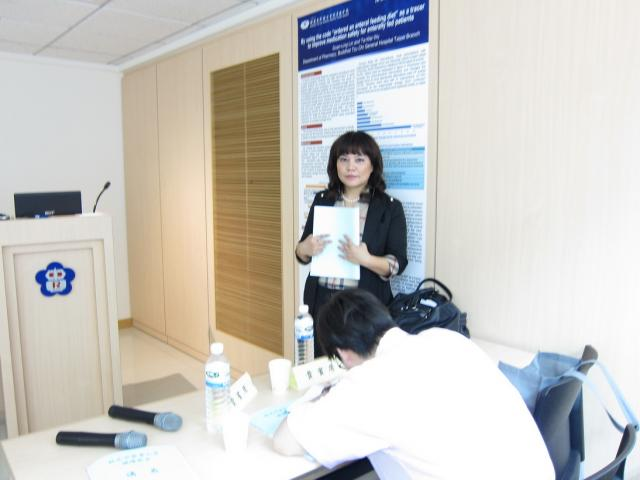 羅氏製藥股份有限公司呂美瑜顧問蒞臨本會,帶領專業的醫師團隊為學員們授課