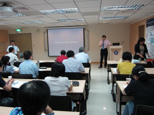 第二堂課邀請雙和血液腫瘤科主治醫師蘇勇誠醫師進行演講,演講主題為:「淋巴癌標靶藥物治療」