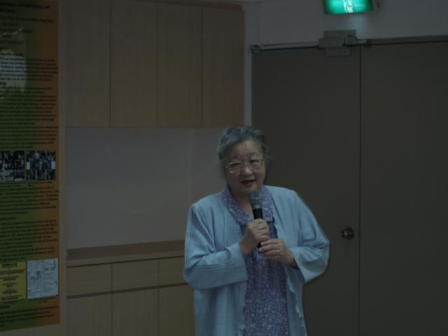 陳瓊雪教授勉勵藥師們應多元化的學習與成長才能確實的為民眾的用藥安全把關