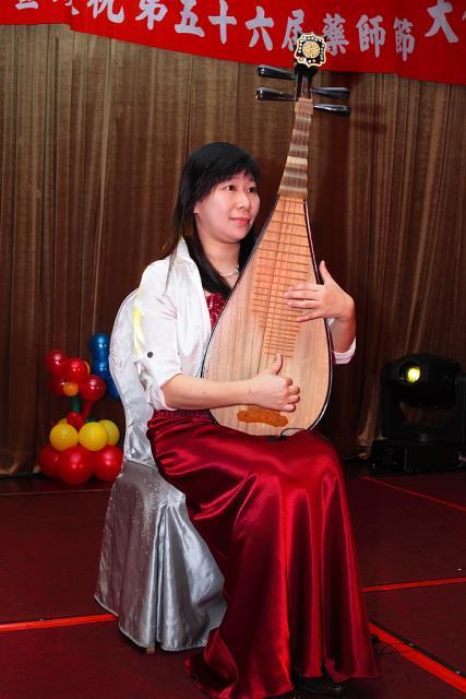 表演節目:吳舜華老師琵琶演奏