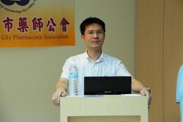本次課程邀請到張皓翔醫師進行演講,演講的主題為「疼痛的成因與治療」