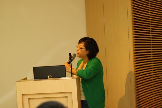 8月15日第一節課由張淑娟課長為學員們帶來「社區藥局經營中藥業務之核心價值」的課程