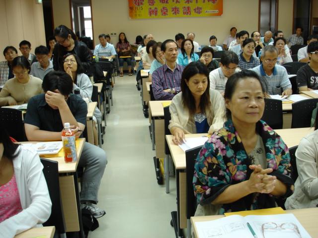 參與本次課程的會員們除了可以修習學分外,也可充實多元化的知識