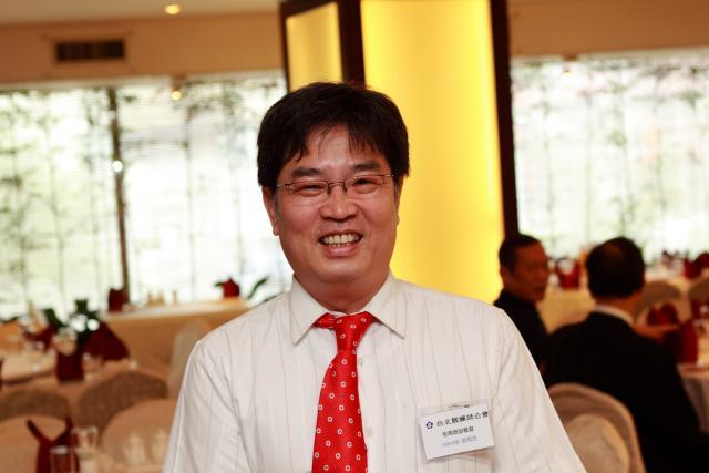台北縣藥師公會黃雋恩常務理事出席本次活動