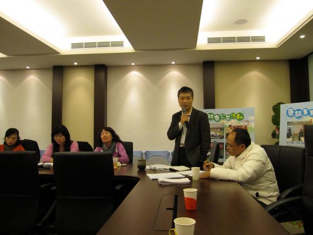 古博仁理事長也將台北縣藥師本年度的工作計劃及預定時程和大家報告