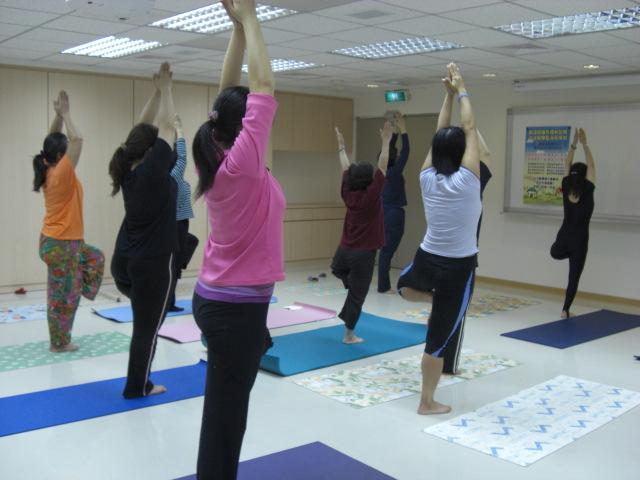瑜珈課程 - 樹式